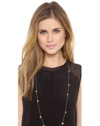 Gorjana - Metallic Fatima Wrap Necklace - Gold - Lyst