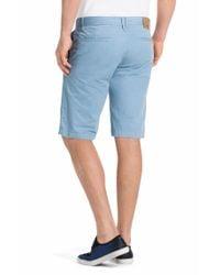 BOSS Orange - Blue Regular-Fit Shorts 'Schino-Shorts-D' for Men - Lyst