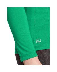 Ralph Lauren | Green Active Long-sleeved Tee | Lyst