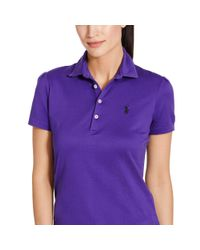 Ralph Lauren Golf - Purple Tailored Golf-fit Polo Shirt - Lyst