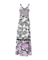 Pianurastudio - Gray 3/4 Length Dress - Lyst