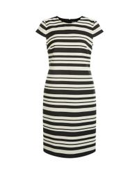 Hobbs - Black Andara Dress - Lyst