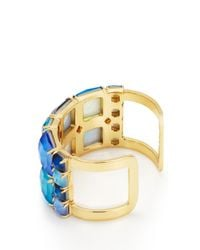 kate spade new york Blue Swan Dive Wide Cuff