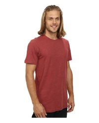 Volcom | Red Heather S/s Tee for Men | Lyst