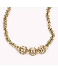 Tommy Hilfiger | Pink Signature Necklace | Lyst