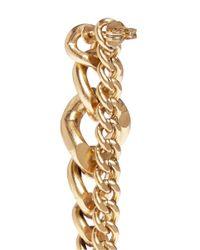 Ela Stone   Metallic Editha Graduated Chain Earrings   Lyst