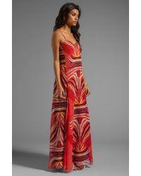Mara Hoffman - Slip Gown in Red - Lyst