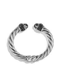 David Yurman - Metallic Osetra Bracelet With Hematine - Lyst