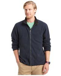 Izod | Blue Full-zip Jacket for Men | Lyst