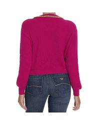 Boutique Moschino | Purple Sweater | Lyst