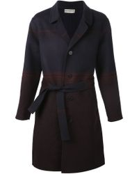 Éditions MR | Blue Single Breasted Coat | Lyst