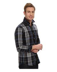 7 Diamonds - Multicolor Harrington L/s Shirt for Men - Lyst