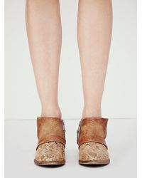 Free People | Brown Westwood Ankle Boot | Lyst