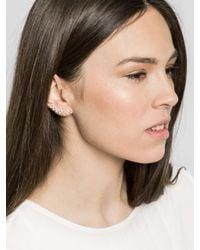 BaubleBar | Metallic Pavã© Droplet Ear Crawlers | Lyst
