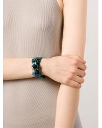 Vivienne Westwood | Black 'squiggle' Bracelet | Lyst