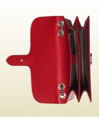 Gucci Pink Exclusive Interlocking Shoulder Bag