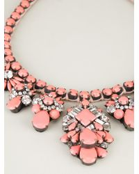 Shourouk - Pink Holy Necklace - Lyst