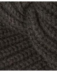 Rosie Sugden - Black Knit Cashmere Turban Hat - Lyst