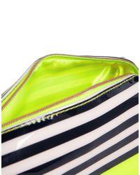 Ted Baker - Black Candy Stripe Make Up Bag - Lyst