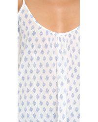 Soft Joie - White Sparkle Top - Porcelain/victorian Blue - Lyst