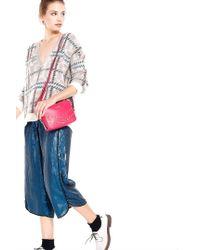Liu Jo | Pink 'capricorno Party' Small Crossbody Bag | Lyst