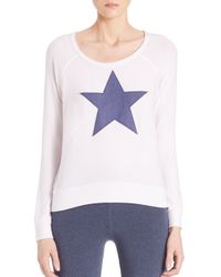 Sundry - Blue Long-sleeve Star Tee - Lyst