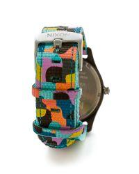 Nixon - Multicolor Mod Acetate Watch - Charcoal/Neo Preen - Lyst