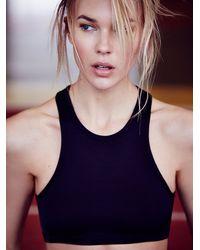 Free People - Black Olympia Activewear Womens Delphine Bra - Lyst