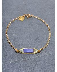 Lily Kamper - Metallic Space Bracelet - Lyst