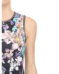 Clover Canyon Multicolor Sleeveless Printed Neoprene Dress