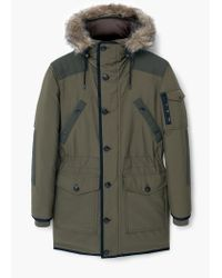 Mango | Natural Feather Down Multi-pocket Parka for Men | Lyst