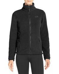 The North Face | Black 'palmeri' Fleece Jacket | Lyst