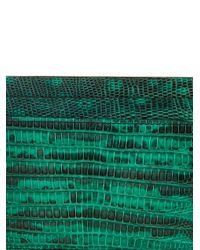 Christian Louboutin - Green Kios Lizard Cardholder for Men - Lyst