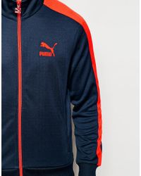 b561967ee194 Lyst - PUMA T7 Track Jacket in Blue for Men