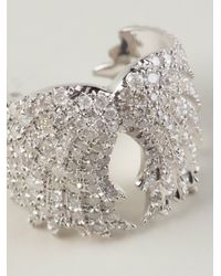 Elise Dray Metallic Wings Ring