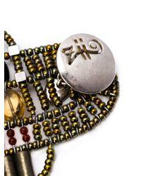 Ziio | Brown Murano Glass Beaded Bracelet | Lyst