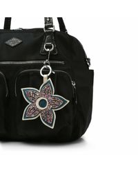 MZ Wallace - Metallic Celebration Flower Charm - Lyst