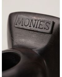 Monies | Brown Square Ring | Lyst