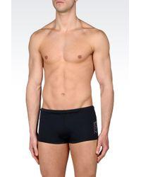 EA7 | Blue Sea World Line Swimsuit for Men | Lyst