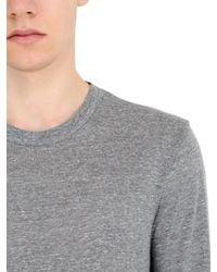 Alternative Apparel - Gray Organic Long Sleeve Cotton T-shirt for Men - Lyst