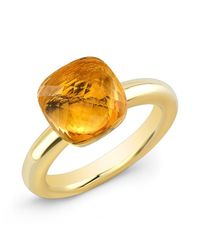 Anne Sisteron | Metallic 14kt Yellow Gold Citrine Ring | Lyst