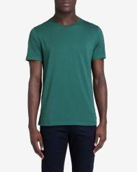 Ted Baker - Green Crew Neck T-shirt for Men - Lyst