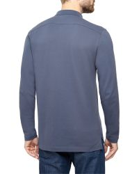 Victorinox | Green Long Sleeve Movement Polo for Men | Lyst