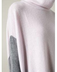 Duffy - White Turtleneck Sweater - Lyst