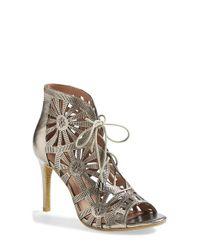 Joie | Metallic 'paxton' Sandal | Lyst