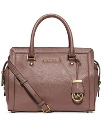 Michael Kors | Pink Michael Collins Medium Satchel | Lyst