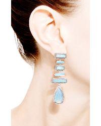 Dana Rebecca | Blue One Of A Kind Opal Earrings | Lyst