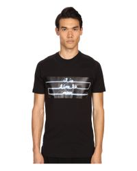 Y-3 Black Move T-shirt for men