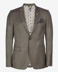 Ted Baker | Gray Wool Blazer for Men | Lyst