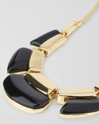 Jaeger - Black Resin Necklace - Lyst